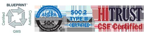 SOC 2 Type II | Hi Trust CSF Certified